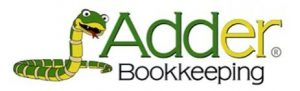 adder bookkeeping logo