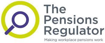Pensions regulator logo